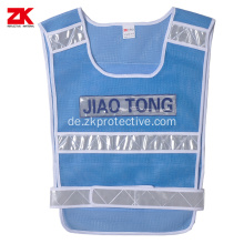 Warnkleidung Traffic Blue Mesh